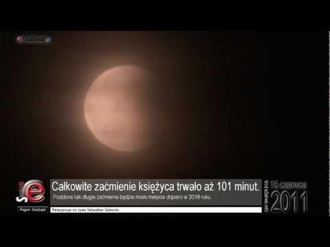 Relacja z zaćmienia księżyca