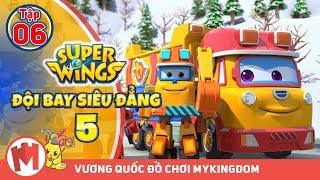 ĐỘI BAY SIÊU ĐẲNG - Phần 5 | Tập 6 : Cứu suối nước nóng - Phim hoạt hình Super Wings