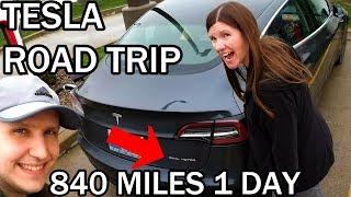1,700 Mile Road Trip in the Tesla Model 3 - Part 1