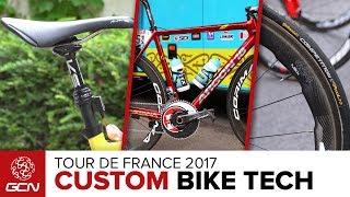 Bikers Rio Pardo | Vídeos | Tour de France: confira as bikes personalizadas do pelotão