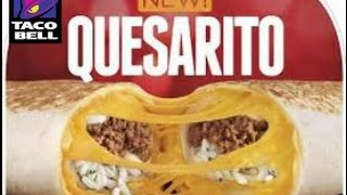 Taco Bell®'s New QUESARITO REVIEW!