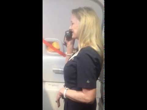 Hilarious Southwest Flight Attendant