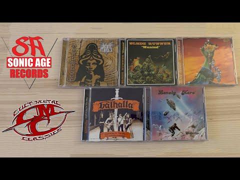 Metal Mailbox #34 - Cult Metal Classics & Sonic Age Records