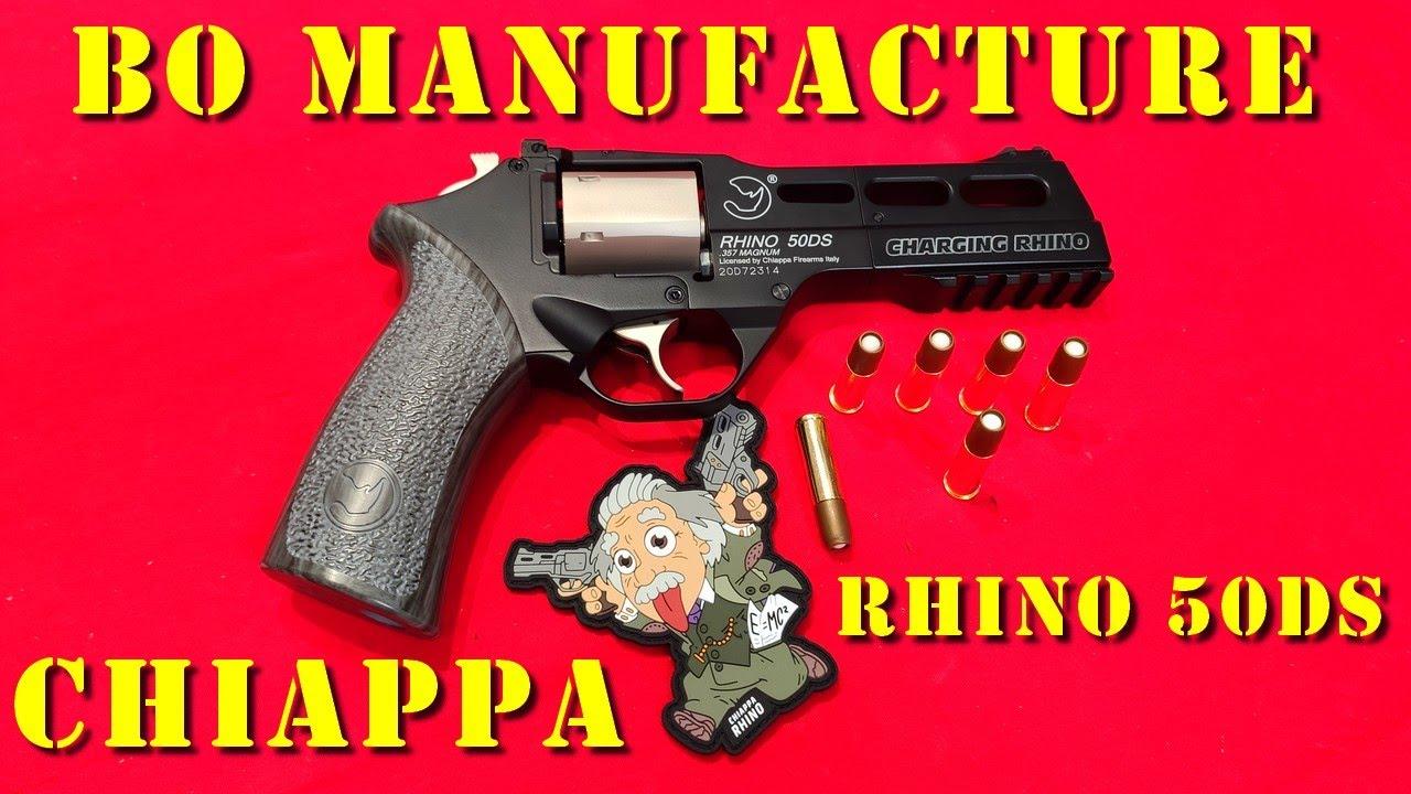 Airsoft - BO Manufacture/Chiappa/Wingun Rhino 50DS [ENG sub]