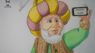 تعليم الرسم - تعلم رسم شخصيات الاقزام في فواصل رمضان     -