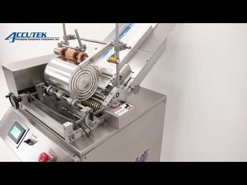 Semi-Automatic F-Style Container Labeler - Labelette FS Labeler - Accutek Packaging Equipment