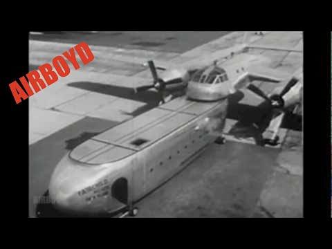 Луд товарен авион од 50-тите години