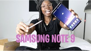 SAMSUNG GALAXY NOTE 9 UNBOXING: BEST SMARTPHONE??