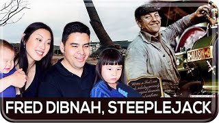 Americans React to Fred Dibnah, Steeplejack | The Good Old Days