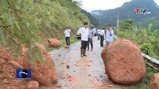Tổng hợp tình hình mưa lũ, sạt lở đất tại tỉnh Thanh Hóa