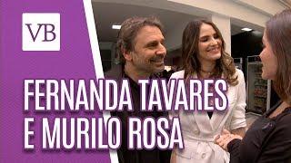 Mix Palestras | Entrevista com Fernanda Tavares e Murilo Rosa