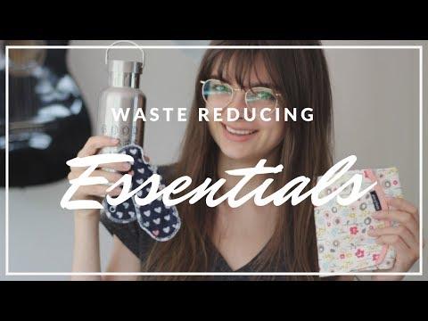 "Easy Ways You Can Reduce Waste | My ""Zero Waste"" Essentials"