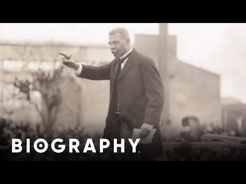A biography of the life and times of booker t washington