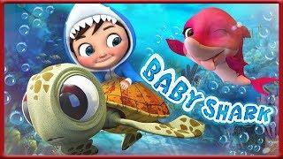 Baby Shark Dance Battle | Baby Shark Challenge | Baby Shark Remix - Banana Cartoons [HD]