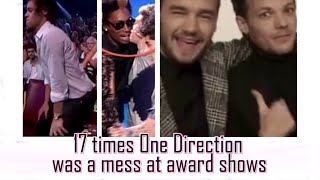 17 times One Direction was a mess at award shows