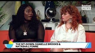 OITNB's Natasha Lyonne And Danielle Brooks Hang Out On Set
