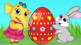 Emmie - Easter Eggs & Bunny Hop | Nursery Rhymes Collection & Kids Songs | Animal Song | Babytoonz