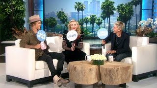 The Ellen DeGeneres Show – Madonna and Justin Bieber
