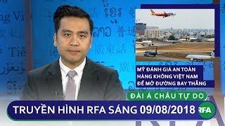 Tin tức: Mỹ đánh giá an toàn hàng không Việt Nam để mở đường bay thẳng