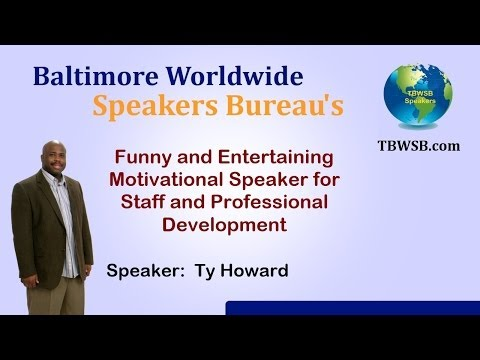 Ty Howard: Funny & Entertaining Motivational Speakers ...