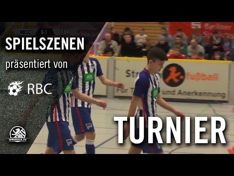 Hertha BSC - VfB Fortuna Biesdorf (13. Range Bau Cup, Gruppenphase) - Spielszenen | SPREEKICK.TV