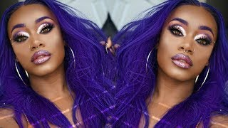 OH, VIOLET HAIR !! | Avoid staining lace | Tinting blonde knots for WOC | Kiss colors | Asteria Hair
