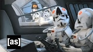 AT-AT Drag Race   Robot Chicken   Adult Swim