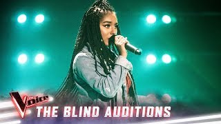 The Blind Auditions: Elsa Clement sings 'Lose Yourself'   The Voice Australia 2019