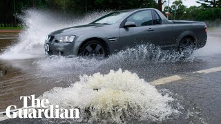 Sydney rain and flooding disrupt morning rush hour