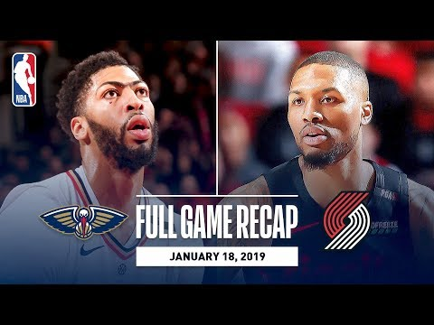 Full Game Recap: Pelicans vs Trail Blazers | Lillard, Layman, and McCollum Combine For 64 Points