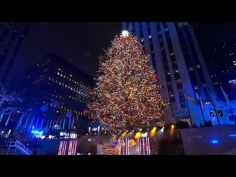 Rockefeller Center Tree Prepares for Its Closeup | NBC New York