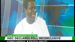 Osun Governorship Election | INEC declares poll inconclusive
