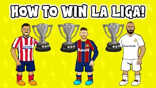 La Liga title race: How Real Madrid, Atletico and Barcelona can SABOTAGE each other!