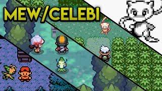 Evolution of Mythical Pokemon - Mew and Celebi (1998 - 2010)