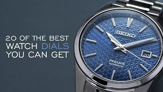 20 of the Best Watch Dials You Can Get for the Money
