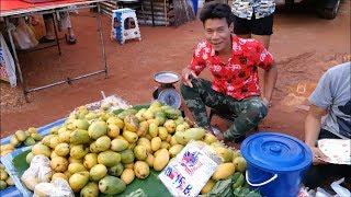 Thai street food vdo at Tarad ban kai market - Amazing asian food