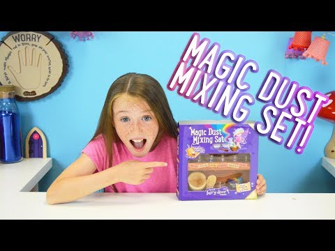 Irish Fairy Door - Fairy Magic Dust Mixing Set
