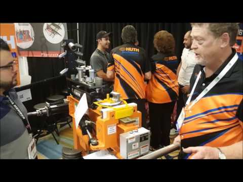 JMC Presents Huth HB10 Pipe Bender at the SEMA 2016 Show.