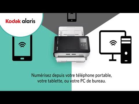 Scanner réseau wi-fi de Kodak Alaris (FR) Preview