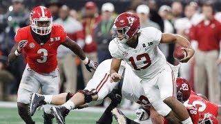 2018 National Championship #4 Alabama vs #3 Georgia