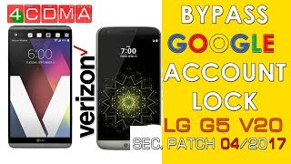 LG G5 H850 BYPASS GOOGLE ACCOUNT FRP ANDROID 7 0 (NEW) 19