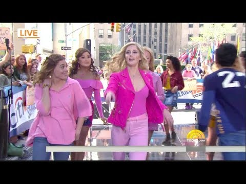 Mean Girls cast performing