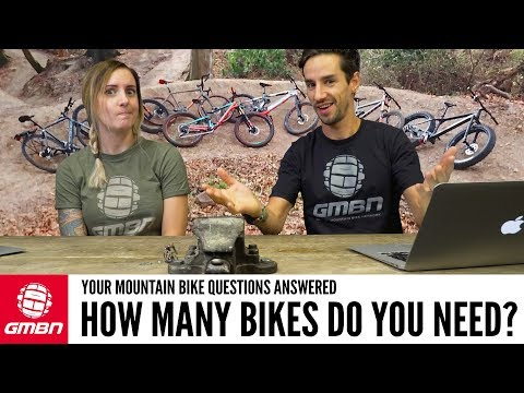 How Many Bikes Do You Really Need"