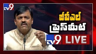 AP 3 Capitals Issue: GVL Narasimha Rao Press Meet LIVE..