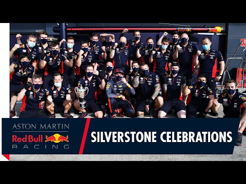 A crazy final lap at Silverstone | Max celebrates with the Team at the British Grand Prix