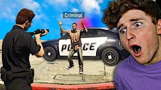 Playing GTA 5 As A POLICE OFFICER.. (GTA 5 MODS)