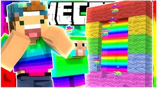 A PORTAL TO THE RAINBOW WORLD! | THE 8 PORTALS (Minecraft Map) #3