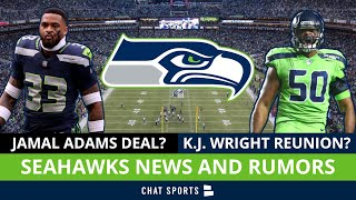 Seattle Seahawks Rumors & News: Jamal Adams Contract? K.J. Wright Return? + Cameron Scarlett Signs
