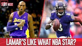 Lamar Jackson is like what NBA star?   SFY NEXT