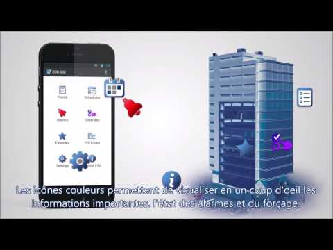 Distech Controls' application mobile myDC Control